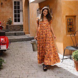 AUGUSTE THE LABEL Flora Mia Maxi Dress RP$219